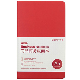 [Jingdong JOY joint name] Qixin (Comix) A5 notebook time and space account book set (with rotating metal gel pen) ECC8042 red