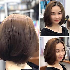 Combo: Cắt + Tẩy (Elgon) + Nhuộm (Davines, Revlon, Prosee) + Phục Hồi Olaplex Dành Cho Nữ Tại Salon Top Hair Việt Nam