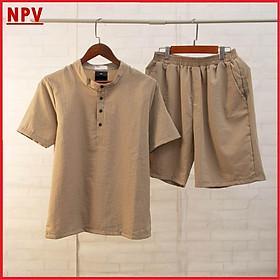 Bộ Quần Áo Đũi Nam NPV chất vải đũi thái loại dày bộ đồ nam vải đũi trẻ trung