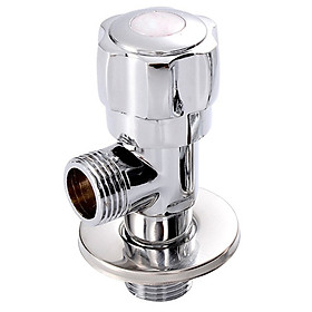 (MEJUE) Z-1702 thick hot and cold universal copper triangular valve water valve bathroom hardware kitchen faucet faucet