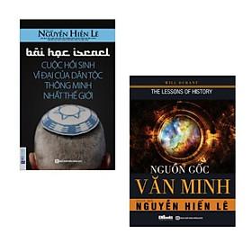 Combo sách: Bài Học Israel - Cuộc Hồi Sinh Vĩ Đại Của Dân Tộc Thông Minh Nhất Thế Giới + Nguồn Gốc Văn Minh