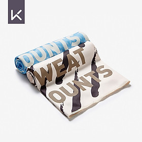 Keep cold sense sports towel print clear heart exercise fitness running training cool cool ice towel