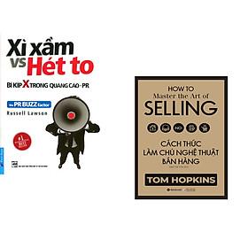 Combo 2 cuốn sách: Xì Xầm 'vs' Hét To - bí kíp X trong quảng cáo +  Cách Thức Làm Chủ Nghệ Thuật Bán Hàng