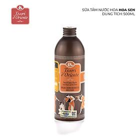 Sữa Tắm Tesori D`oriente Lotus Flower And Acacia'S Milk - Hoa Sen (500ml)