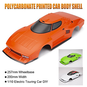 Killerbody 48309 RC Car Body Shell Kit for 257mm Wheelbase 1/10 Electric Touring Car Frame Printed Car Body Imitate