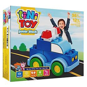 Đồ Chơi Lắp Ráp Junior Block Forest Police Car tiNiToy 102