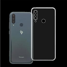 Ốp lưng/Case có viền CHE CAMERA cho điện thoại VSMART JOY 3 - Ốp dẻo cao cấp trong suốt, bảo vệ điện thoại - Hàng Chính Hãng