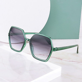 2021 mới Kính râm thời trang lục giác, Kính mát nữ thời trang thanh lịch , nhẹ nhàng, kính râm chống tia UV - KM07