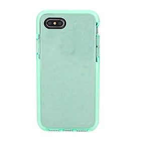 Mobile Phone Case Protector Cover Lovely Diamond Grain TPU+PC Anti-Collision All-Round Protective for iPhone7/8 -