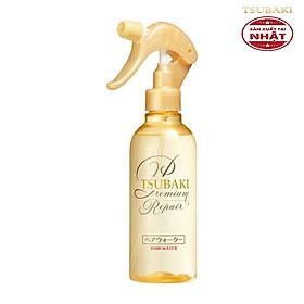 Xịt Dưỡng Tóc Phục Hồi Hư Tổn Ngăn Rụng Tsubaki Premium Repair Hair Water Nhật 220ml-1