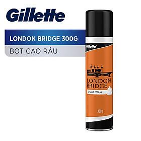 Bọt Cạo Râu Gillette London Bridge Chai 300G