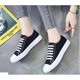 Giầy SNEAKER Vải - Giày Thể Thao Nữ BH 17