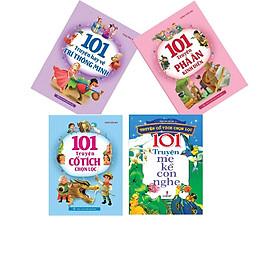 Combo 4 Cuốn Sách - 101 Truyện hay dành cho bé