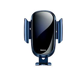 """Giá đỡ điện thoại xoay 360 độ Baseus gắn trên cửa gió điều hòa ô tô, xe hơi SUYL-WL01, Tự động điều chỉnh kích thước, Phù hợp với nhiều loại điện thoại khác nhau với kích thước màn hình từ 4"""" đến 6.5"""" - Hàng nhập khẩu"""