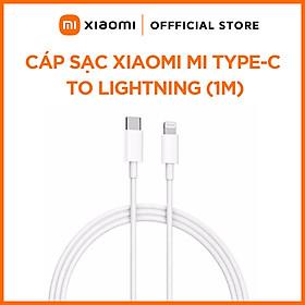 Dây Cáp Sạc Xiaomi Mi Type-C to Lightning Cable 1m - Hàng Chính Hãng