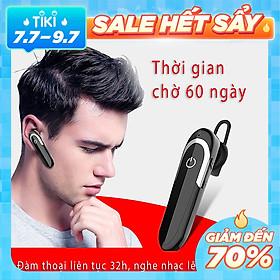 Tai nghe bluetooth nhét tai không dây Tai phone bluetooth dung lượng pin cực lớn nghe nhạc đàm thoại D5