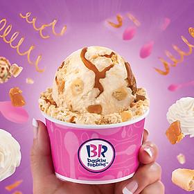 Baskin Robbins - Voucher Giảm Giá Các Loại Kem Và Thức Uống Áp Dụng Toàn Hệ Thống