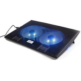 Đế Tản Nhiệt Laptop L6 – 2 Quạt Cao Cấp