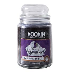 Hũ nến thơm Moomin Raspberry Dream 623gr