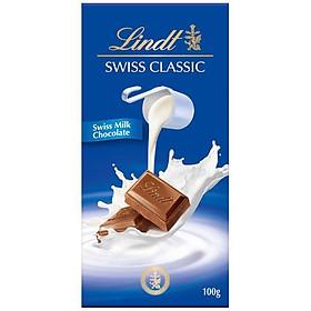 Sô cô la sữa kinh điển Lindt 100g