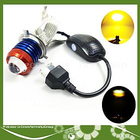 Đèn Pha Led Bi Cầu L6K Râu chân H4 20-40W - 1 đèn Green Networks Group