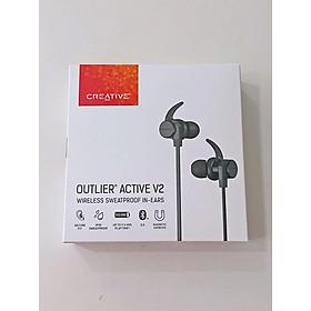Tai Nghe Bluetooth Nhét Tai Creative Outlier Active V2 - Hàng Chính Hãng