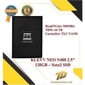 Ổ cứng SSD KLEVV NEO N400 2.5inch 120GB - HÀNG CHÍNH HÃNG