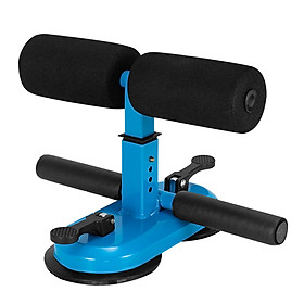 Portable Sit Up Bar with Double Suction Cups Push Up Trainer with 4 Adjustable Heights Muscle Training Equipment-5