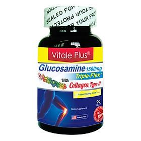 Hình đại diện sản phẩm Thực Phẩm Chức Năng Glucosamine Triple Flex Hỗ Trợ Điều Trị Thoái Hóa Khớp (90 Viên / Hộp)