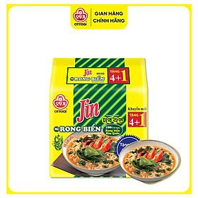 Lốc 5 Gói Mỳ Jin Rong Biển Ottogi 600g