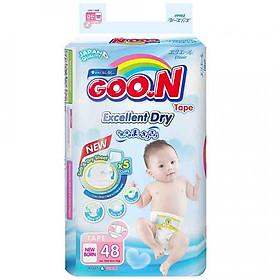 Tã Dán Goo.n Slim Newborn NB48 (48 Miếng)-0