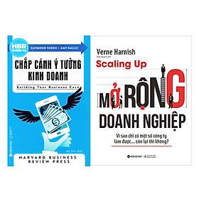 Combo Sách : Scaling Up - Mở Rộng Doanh Nghiệp + HBR - Chắp Cánh Ý Tưởng Kinh Doanh