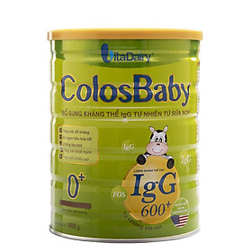 2 Hộp Sữa Bột VitaDairy ColosBaby 0+ (800g)