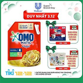 Túi Nước Giặt OMO Matic Comfort Hương Tinh dầu thơm 2.9kg