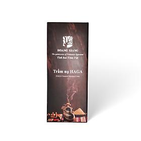 Trầm nụ cao cấp Hoàng Giang - Trầm hương nguyên chất dùng xông phòng, thiền, yoga-Hộp 24 nụ