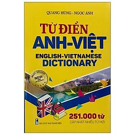 Từ Điển Anh – Việt (251.000 Từ)