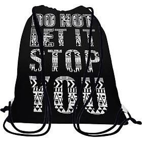 Túi Dây Rút Unisex In Hình Do Not Let It Stop You - BDTE109