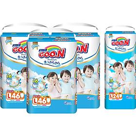 Combo 3 Gói Tã Quần Goo.n Premium Cực Đại L46 (46 Miếng) - Tặng 1 Tã Quần Đại L24 (24 Miếng)