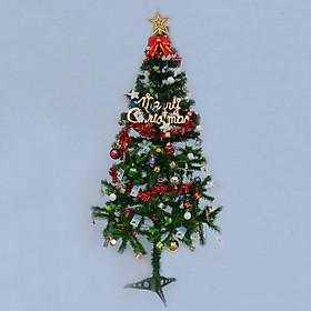 Cây Thông Noel 50cm tặng kèm 1 bộ phụ kiên đầy đủ