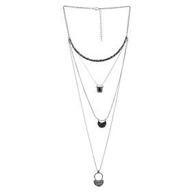 Hình đại diện sản phẩm Vòng Cổ Phong Cách Bohemian Elizabeth Shop VC-0612-349 - Bạc