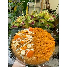 Bánh Mix Bông Lan Trứng Muối Phô Mai và Gà Cay Mã Lai 20cm