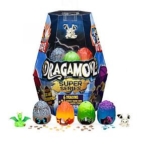 Combo 6 trứng rồng siêu cấp Dragamonz SPIN MASTER 6047155