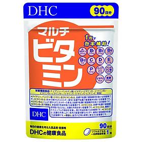 Viên Uống Vitamin Tổng Hợp DHC Multi Vitamin 90 Ngày Bao Bì Mới
