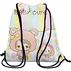 Balo Dây Rút Unisex In Hình Baby'S Cute - BDCT216