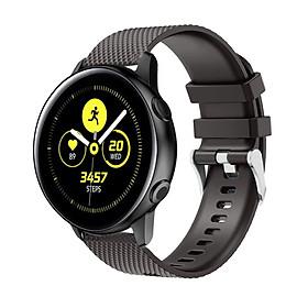 Dây Cao Su Colour 2 Size 20mm cho Galaxy Watch Active 1, Galaxy Watch Active 2, Galaxy Watch 42, Huawei Watch 2, Ticwatch, Amazfit