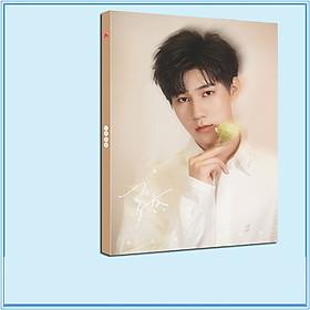 Album ảnh in hình TRƯƠNG CHÂN NGUYÊN nhóm nhạc TNT THỜI ĐẠI THIẾU NIÊN ĐOÀN tặng kèm poster tập ảnh quà tặng xinh xắn idol thần tượng