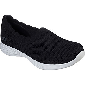 Giày Thể Thao Nữ Skechers 15831-BKGY - Đen
