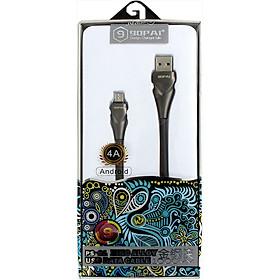 Cáp sạc nhanh 90PAI Micro USB PS-21 (4A) - Grey - Hàng chính hãng