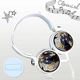 Tai nghe 19 Days anime chibi thiết kế thông minh cá tính cắm dây có mic