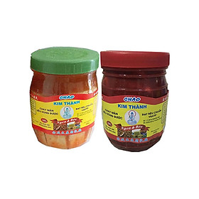 Chao Kim Thành lốc 2 hũ ( chao đậu hũ + chao đỏ )